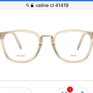 NWOT Céline Cl 41419 glasses frames